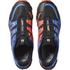 Salomon Speedtrak Trailrunning Shoes Men black/blue yonder/lava orange